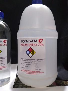 ALCOHOL 70º GALON PACA